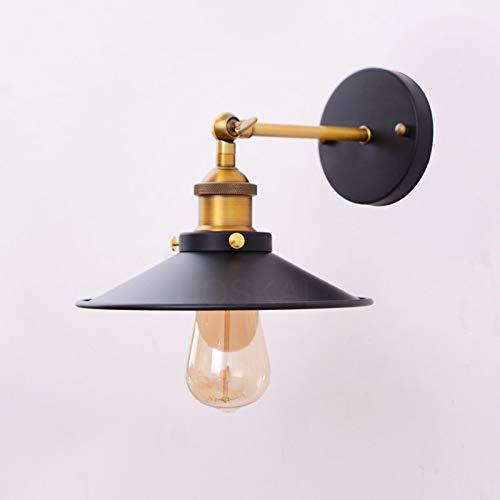 XYDEXHN Loft Americano Retro Vintage Lámparas De Pared De Techo Lámpara De Pared De Hierro Pintado 110V-220V Decoración De...