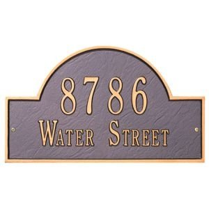 Arch Marker Standard Wall Plaque - (Whitehall Arch Marker)