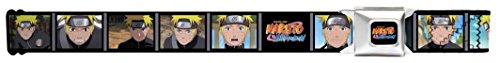 Naruto Blocks W/logo Seatbelt Belt