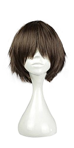 Mtxc Seraph of the End Cosplay Yoichi Saotome Wig Brown -