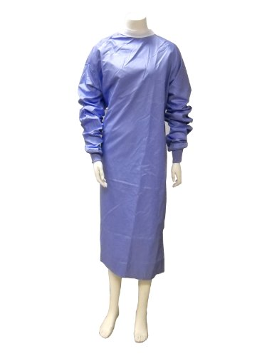 SafeCare Fabric Reusable Standard Coverage Gown, x-large, w/snaps, each