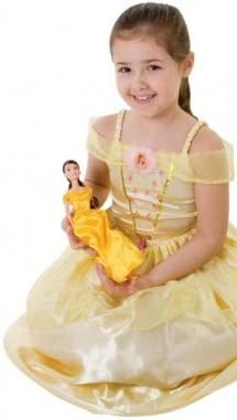Desconocido Disfraz de la Bella y la Bestia de Disney para niña ...