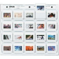 Print File 2x2-20H Archival Storage 35mm Horizontal Pack of 100 by Print File