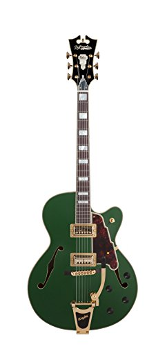 D'Angelico Deluxe 175 Electric Guitar – Matte Emerald