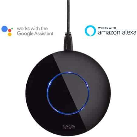 BOND   Smart Home Automation   Make Your Old Ceiling Fan or Fireplace Smart Through WiFi   Works with Alexa and Google Home   Remote Control with App   Compatible with iPhone or Android