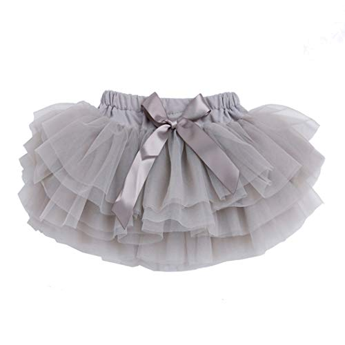 belababy 2T Toddler Halloween Costume PP Tutu Gray -