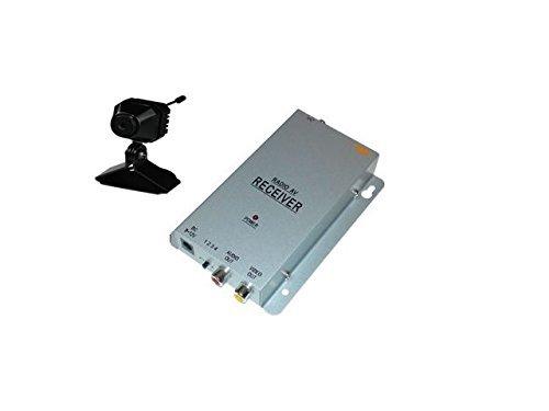 KesCom ® 811N couleur security mini caméra de surveillance sans fil 1 canal à 4 ne sont pas disponibles (ajustable) avec 4 canaux avec récepteur 2,4 gHZ