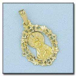 Médaille D'or 18kt V. Lourdes
