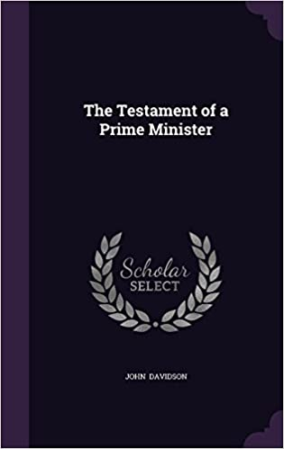 Book The Testament of a Prime Minister
