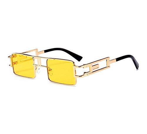 polarisées soleil carrées non de Steampunk Twin Vintage classique gothique lunettes petites style C10 Beams 8HzwE