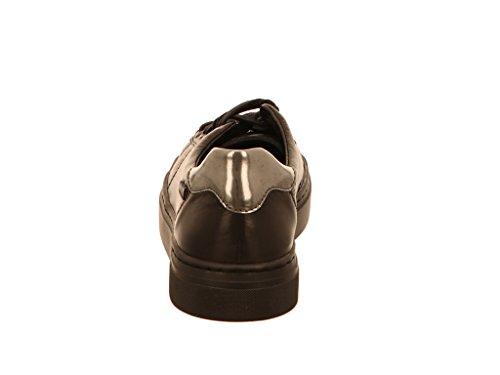 Mephisto Antonia7800, Chaussures de ville à lacets pour femme - noir - noir,