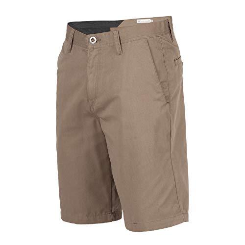 Volcom Men's Frickin Chino Short, Mushroom, 36 (Casual Chino Shorts)