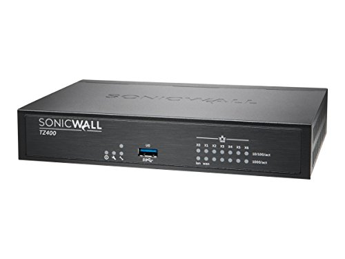 SonicWall | 01-SSC-0514 | SonicWall TZ400 TotalSecure 1 Year (1 Gbps Firewall)