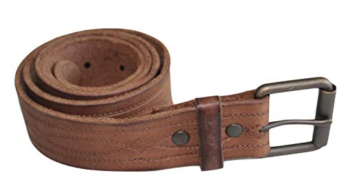 American Eagle Brown Belt - American Eagle Men's AE Tooled Leather Belt (Size 36) Brown AEO
