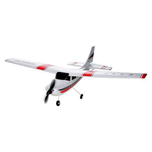 Redbrowm WLtoys F949 3CH 2.4G RC Airplane RTF Glider EPP Composite Material 14+(US Shipment) (White, A)