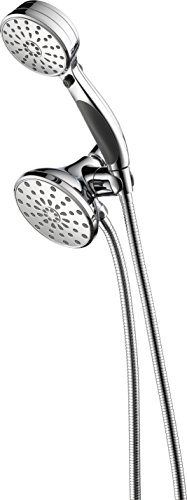 Delta Faucet 8-Spray Touch-Clean Hand Held Shower and Shower Head Combo, Chrome 58968-PK