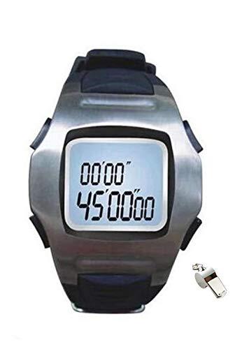 (Zewik Professional Soccer Wrist Stopwatch Judge Watches Referee Watch Sports Stopwatch)