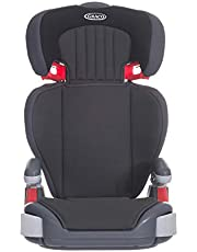 Graco Junior Maxi Lightweight Highback Booster Car Seat, Group 2/3, Midnight Black