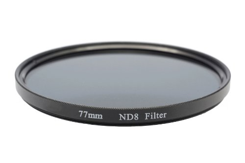 Gadget Career 77mm Neutral Density ND8 Filter for Nikon AF-S Nikkor 24-120mm f/4G ED VR by Gadget Career