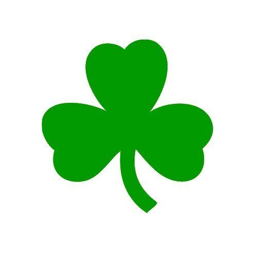 Shamrock Clover Sticker Decal Notebook Car Laptop 2