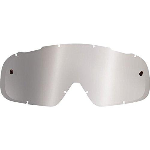 Grey Chrome Lens - Chrome/Grey Fox Racing AIRSPC Motocross Goggle Spark Lens