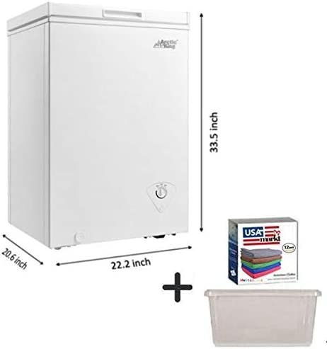 Arctic King 5.0 cu ft Chest Freezer in White with FREE