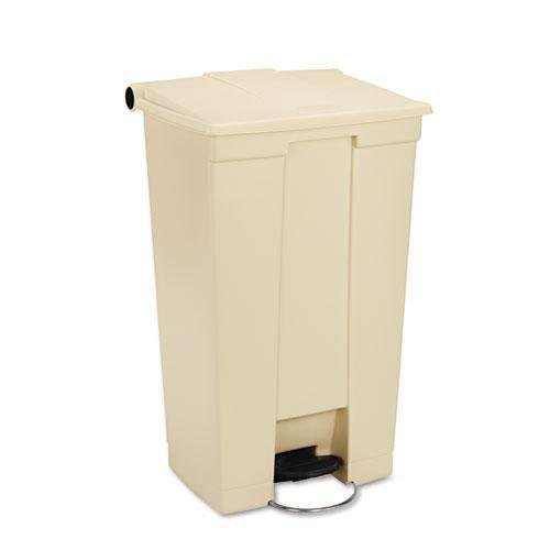 RCP614600BG - Step-On Receptacle w/Wheels by Rubbermaid