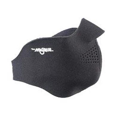 Seirus Innovation 6810 Neofleece Comfort Masque - Winter Cold Weather Face Protection, Black, Large