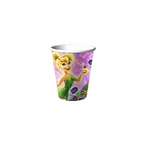 Disney Fairies Tinkerbell Birthday Cups 16 Count