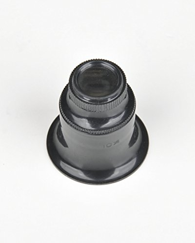 Fowler 52-660-020 Optical Magnifier Loupe Set, 3 Pieces, 2X, 5X and 10X Magnification by Fowler (Image #3)