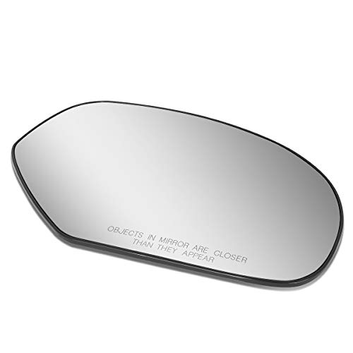 Passenger/Right Side Door Rear View Mirror Glass Lens Replacement for 2007-2014 ()