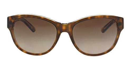 DKNY Women's 0DY4133 Cateye Sunglasses, Dark Tortoise Crystal, 55 mm
