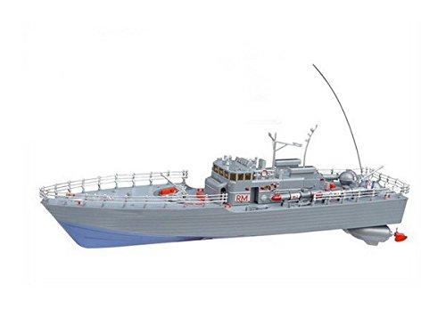RC Torpedoboot Sea Patrol ferngesteuertes Kriegsschiff Schiff Boot Royal Marine mit Kabinenlicht - viele Details - alles inklusive!! beeindruckende 50 cm Länge