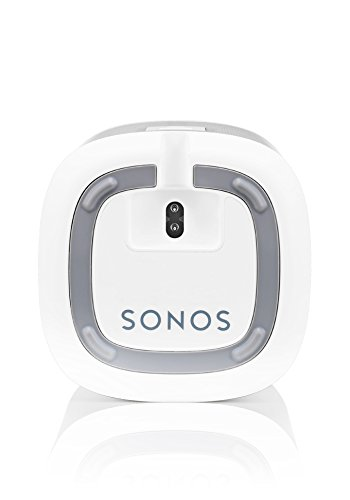 Sonos PLAY:1 All-In-One Wireless Speakers with Flexson Premium Floor Stands - Pair (White) by Sonos (Image #5)