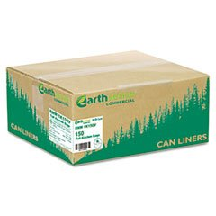 ** Recycled Tall Kitchen Bags, 13-16 gallon, 0.8 mil, 24 x 31, White, 150 Bags/Box **