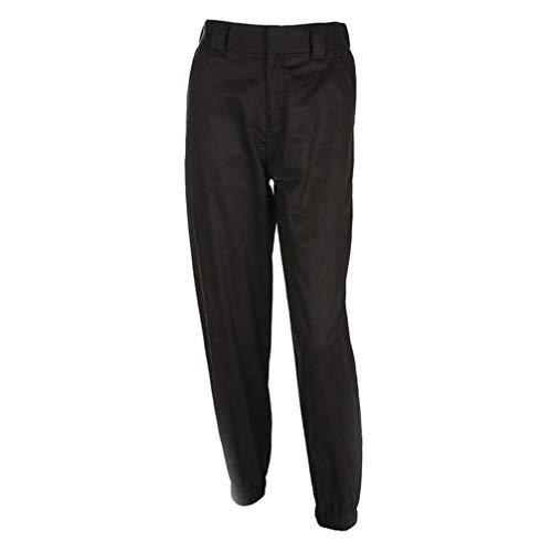 Nero Harem Hop Eleganti Baggy Pantaloni JEELINBORE Trousers alta Hip da vita Chino Donna a Ox1xqwPB86