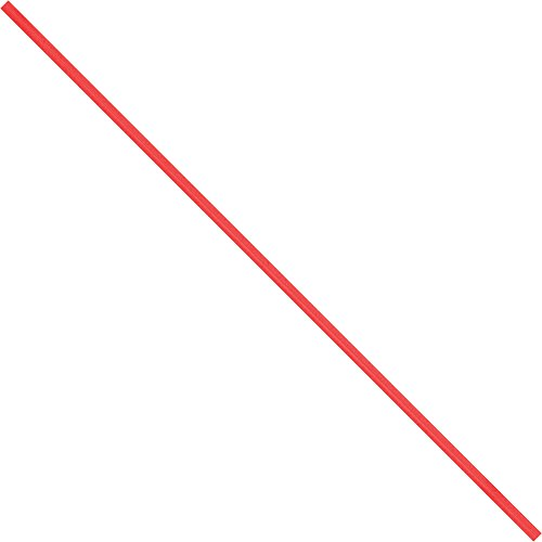 Boxes Fast BFPBT8R Paper Twist Ties, 8'' x 5/32'', Red (Pack of 2000) by Boxes Fast