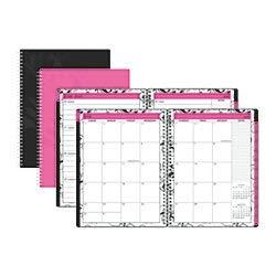 "Divoga 922-937 Weekly/Monthly Academic Planner 7""x9"" Pink Ju"