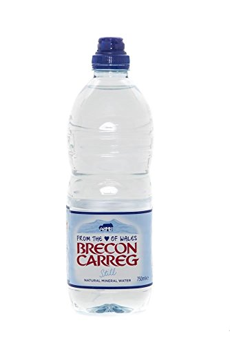 Brecon Mineral Water Brecon Natural Mineral Water 750ml Sports Cap (Pack of 15) by Brecon Mineral Water
