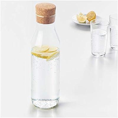 IKEA 365 + Slim – Jarra de cristal con tapón de corcho tapa de ...