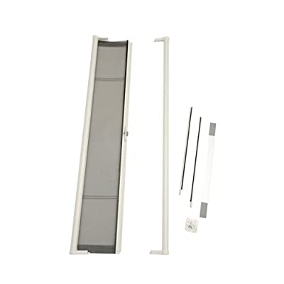 Brisa Standard Screen Door Finish: White