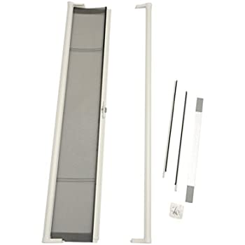 Crl White 84 Quot Euro Retractable Screen Door Kit By Cr