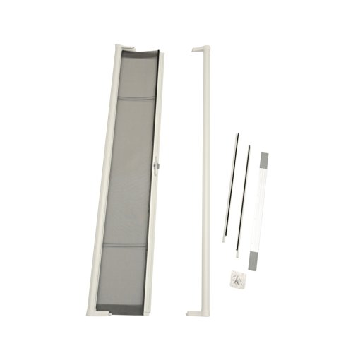 - ODL Brisa Premium Retractable Screen for 80 in. Inswing Hinged Doors - White