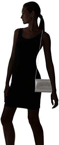 Swanky Swans Lesley - Carteras de mano Mujer Plateado (Silver)
