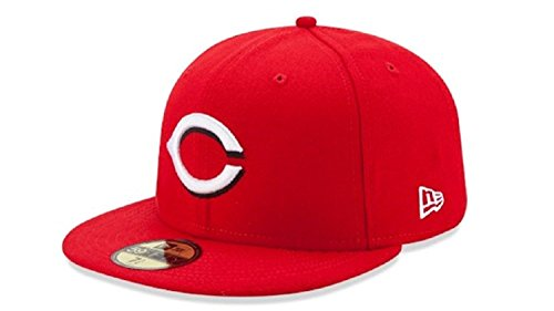 Field Cincinnati Reds Mlb Baseball (New Era Cap Co,. Inc. Men's 70361070, Red, 7.125)