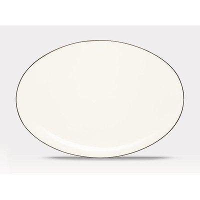 Noritake 16-Inch Colorwave Oval Platter, Chocolate - Noritake Stoneware Platter
