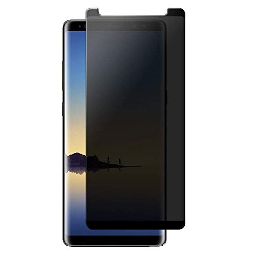 Galaxy Note 9 Privacy Screen Protector Tempered Glass, HD Privacy Screen Protector Compatible with Samsung Galaxy Note 9,Anti Spy,Anti-Scratch,3D Curved,No Bubble[2Pack]