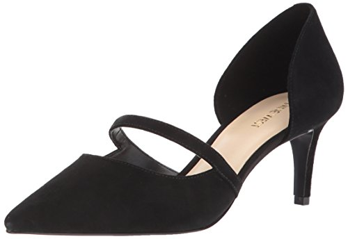 Nine Women's Pump Sumner Black Suede Suede West UUqr6wv