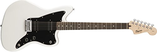 - Fender Squier by Affinity Series Jazzmaster Electric Guitar - HH - Rosewood Fingerboard - Arctic White
