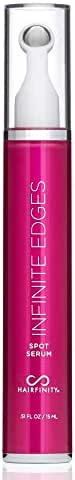 Hairfinity Infinite Edges Spot Serum - Hair Growth Treatment to Prevent Hair Loss and Stimulate Hair Follicles to Stop Hair Loss and Regrow Hair - Targets Causes of Alopecia - Sulfate & Silicone Free